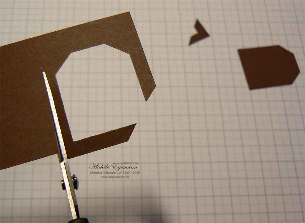 fotoecken ganz schnell selbst gemacht stempelrausch. Black Bedroom Furniture Sets. Home Design Ideas