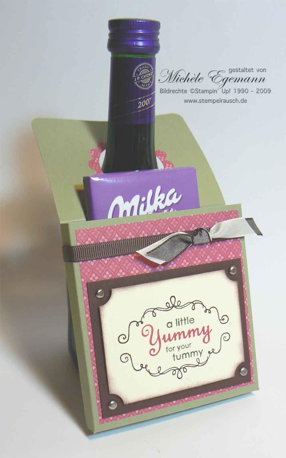 Flaschen-Geschenke-Anhänger