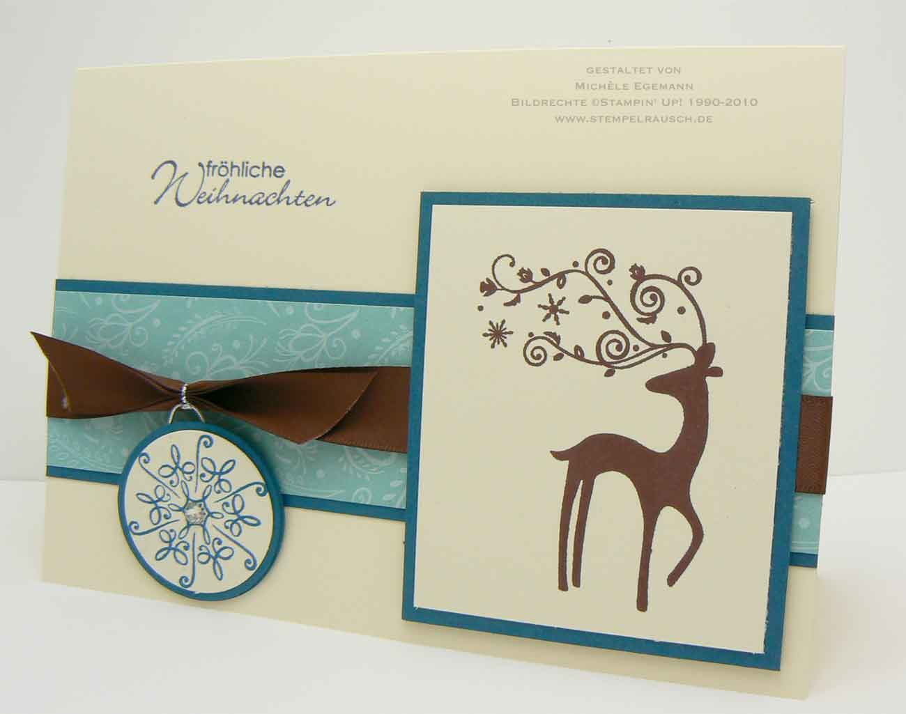 Schön Edle Weihnachtskarten Basteln Foto Von Der Spruch Fröhliche Weihnachten Ist Aus Dem