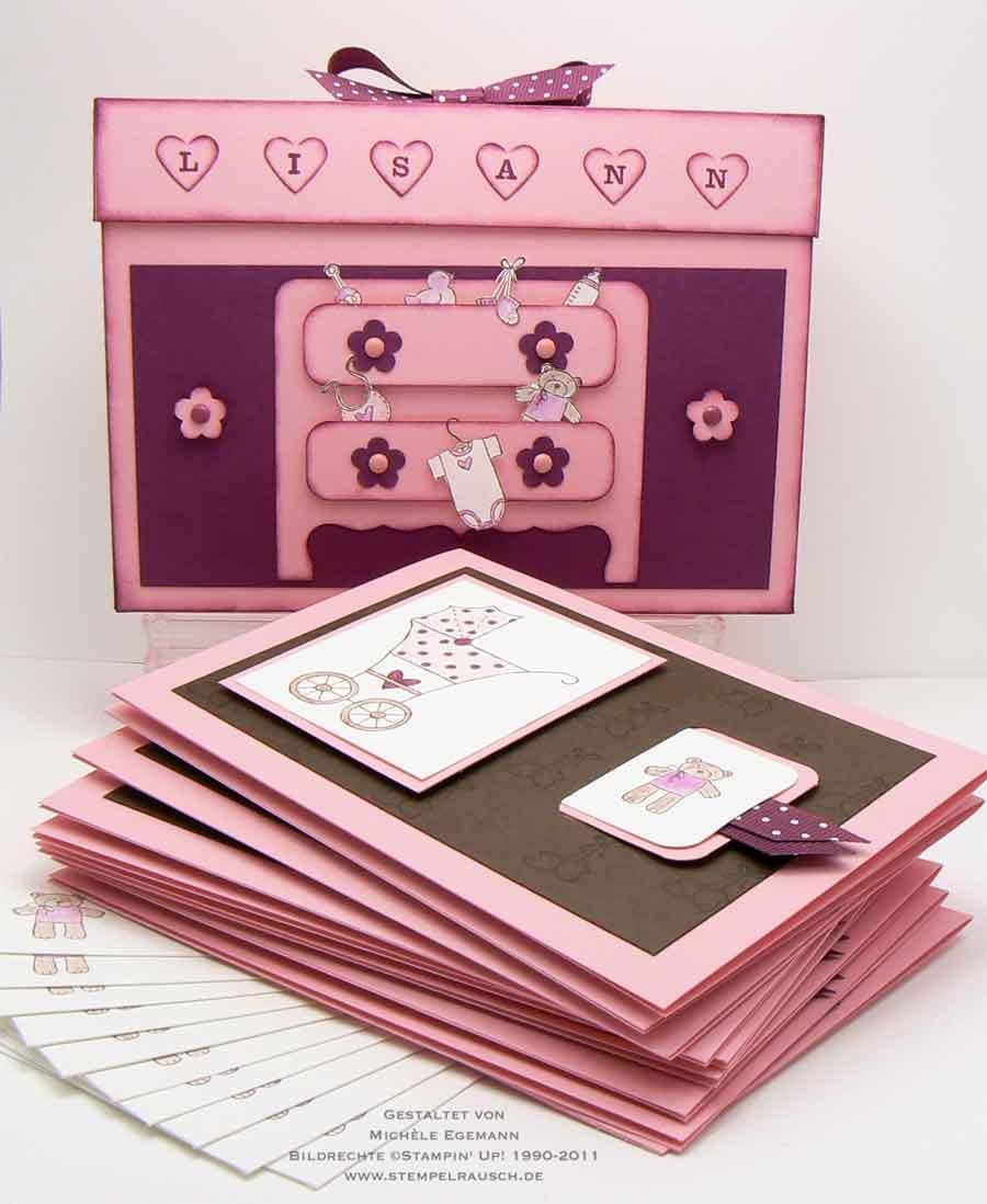 Kartenbox zur Geburt