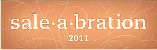 sale-a-bration 2011 – 4 kostenlose Stempelsets
