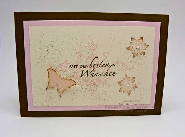 Geburtstagskarte mit dem Sale-A-Bration Set Glück und ein Blog-Candy