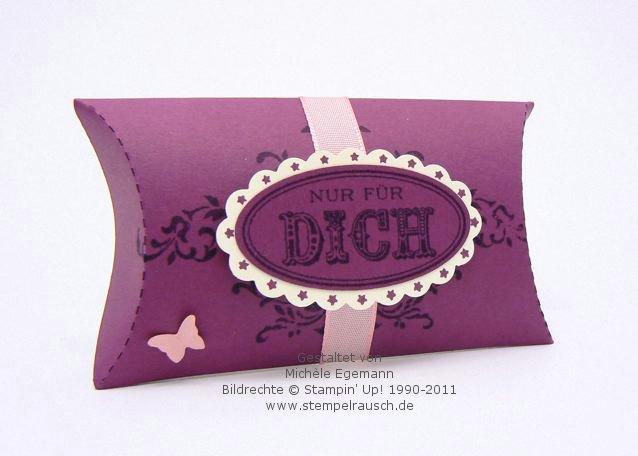 Pillow Box als kleines Mitbringsel