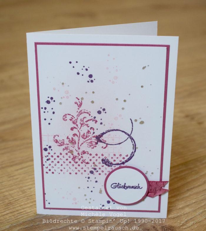 Stampin Up_Geburtstagskarte 2_Timeless Textures_Bannerweise Gruesse_stempelrausch