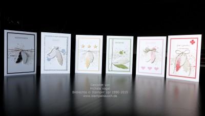 Ein Schwung voller Karten mit Four Feathers und …