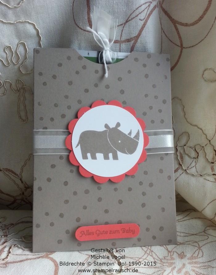Gutscheinverpackung-für-Shoppinggutscheine-Geschenkkarten-Zoo Babies-Taupe-Nashorn-1