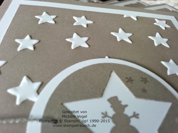 Stampin Up_Sternenkarte_Weihnachtskarte_Kling Gloeckchen_Praegeform Glueckssterne_4