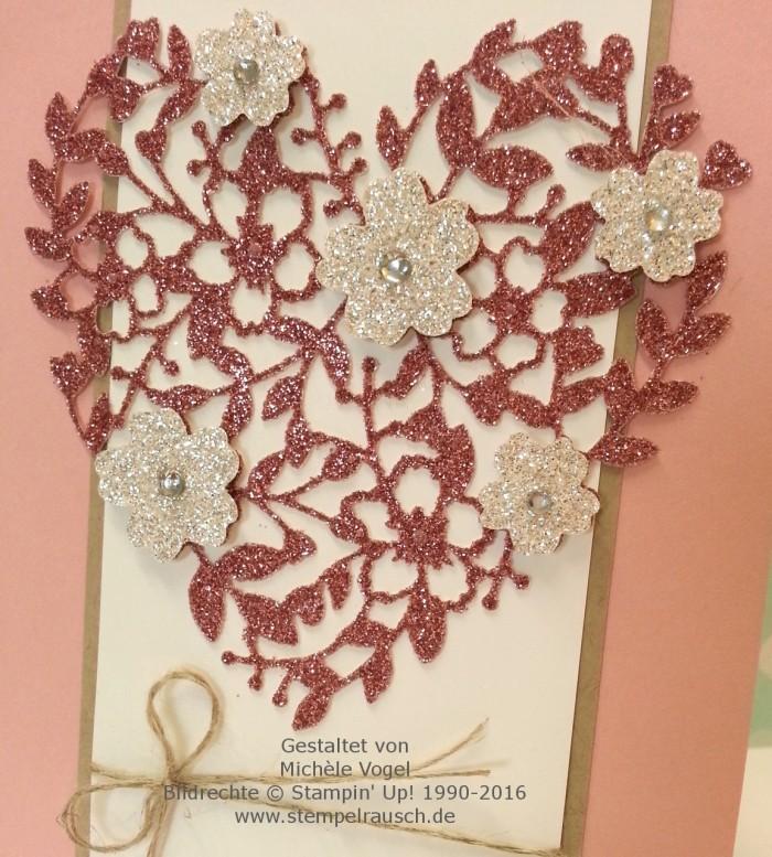 Stampin Up_Hochzeitskarte_Thinlits Formen_Blühendes Herz_Stempelset_Eins für alles_