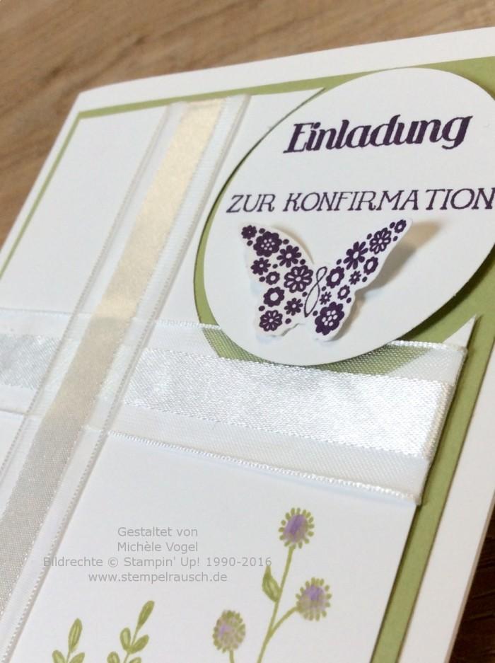 Stampin Up_Einladungskarte_zur Konfirmation_Stempelset_Papillon Potpourri_Eins für alles_Flowering Fields_3