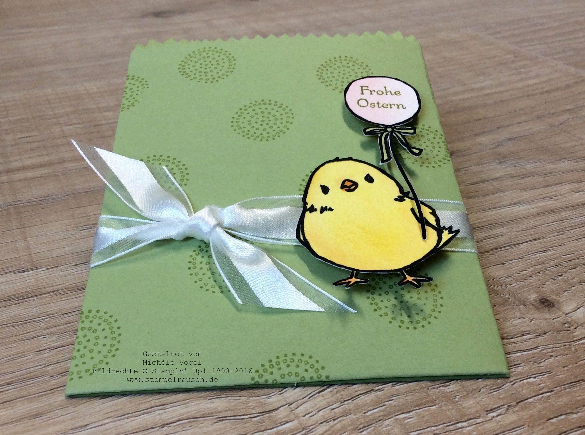 Osterverpackung mit dem Küken aus der Sale-A-Bration