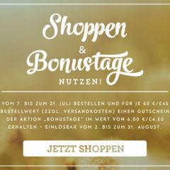 Stampin'Up! Bonustage – im Juli shoppen und im August sparen