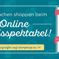 Online Spektakel – bis zu 40 % sparen!