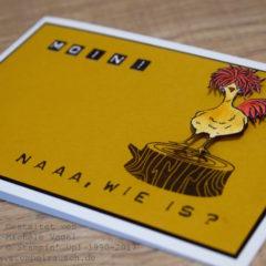 Das Huhn aus der Sale-A-Bration von Stampin' Up!