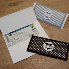 Stampin' Up! Video Anleitung: Ticket-Verpackung