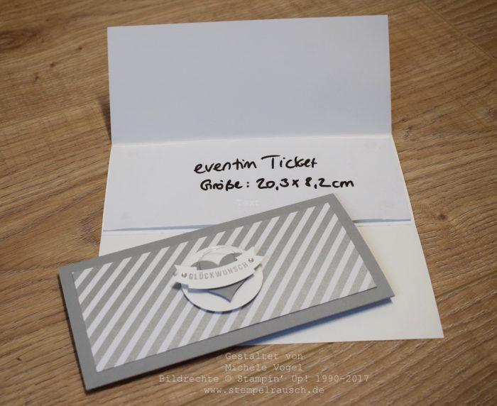 Stampin Up_Ticket Verpackung_Stempelset_Aus freudigem Anlass_Schiefergrau_www.stempelrausch.de