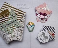 Stampin' Up! Video Anleitung: Geschenktasche ohne Klebemittel basteln