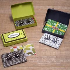 Video-Anleitung: Pizzaschachtel / Pizzakarton – Geschenkverpackung für Gutscheinkarten Stampin' Up!