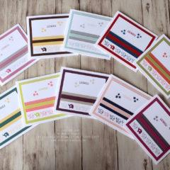 Video: Babykarten mit dem Stempelset Kurz gefasst aus dem Katalog 2017-2018