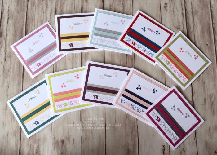 Babykarten_Stampin Up_Stempelset_Kurz gefasst_In Color_www.stempelrausch.de