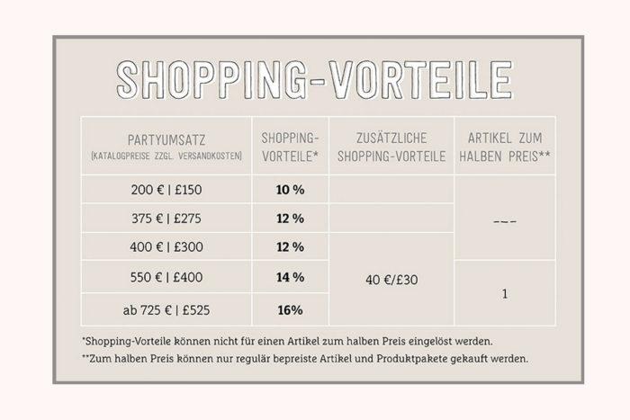 Stampin' Up! Juni Angebot - zusätzliche Shoppingvorteile