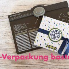 Video-Anleitung: CD-Verpackung mit dem Stanz- und Falzbrett für Umschläge basteln