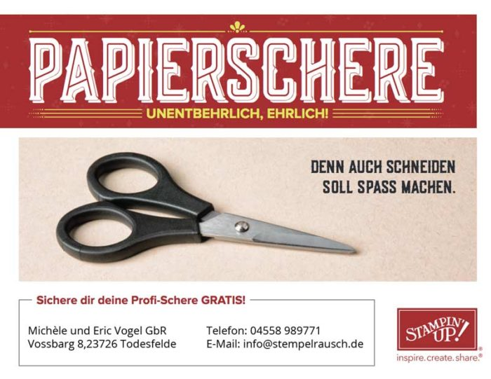 Stampin Up Angebot für Demonstratoren Juli 2017