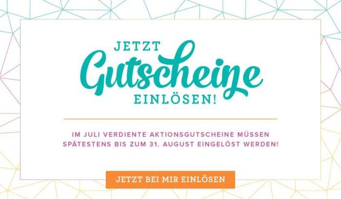 Gutscheine aus den Bonustagen einlösen - Stampin' Up! www.stempelrausch.de