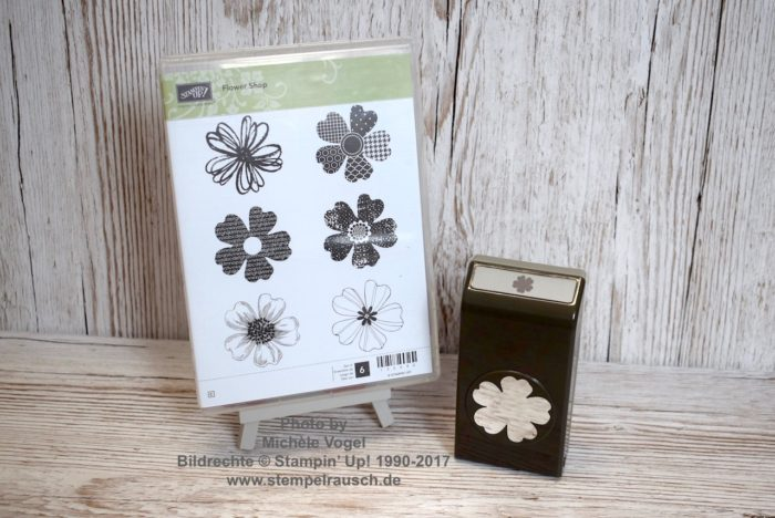 Stampin' Up! Stempelset Flower Shop und Stanze Stiefmütterchen_Stempelmotive leichter ausstanzen_www.stempelrausch.de