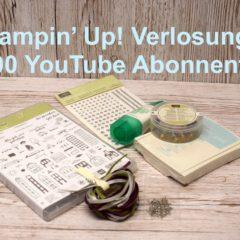 Stampin' Up! Verlosung zu 1.000 YouTube Abonnenten