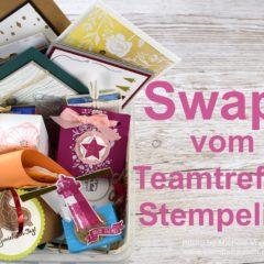 Nachlese Teamtreffen Stempeline mit Video der Stampin' Up! Swaps