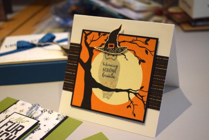 Stampin' Up! Schauecke_Halloween-Karte_ www.stempelrausch.de