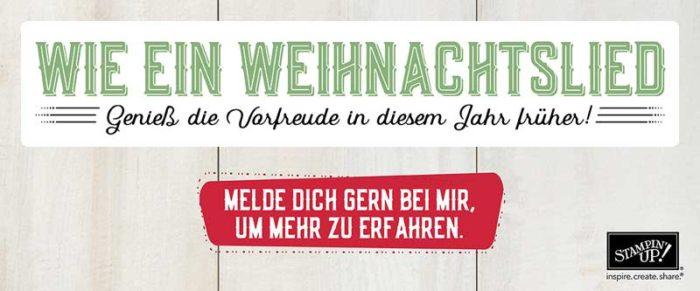 Wie ein Weihnachtslied von Stampin' Up! www.stempelrausch.de