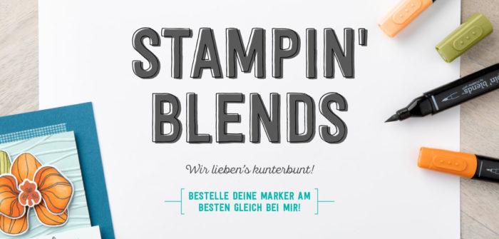 Die neuen Stampin' Blends von Stampin' Up!