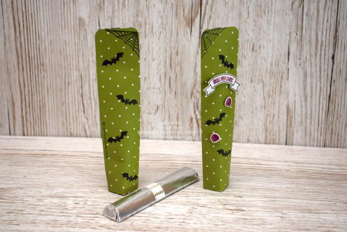 Selbstschließende Box für Schokolade Halloween_Stempelset Ein Haus für alle Fälle_Thinlits Zu Hause_DSP Frohes Fest_Stampin Up www.stempelrausch.de