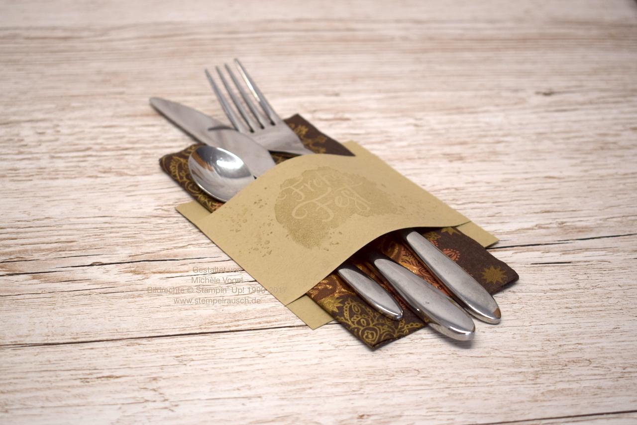 Bestecktaschen Basteln bestecktasche basteln schnell und einfach mit anleitung