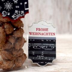 Video-Anleitung: Weihnachtliche Anhänger basteln
