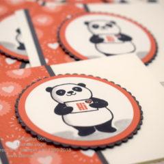 Party-Pandas aus der Sale-A-Bration