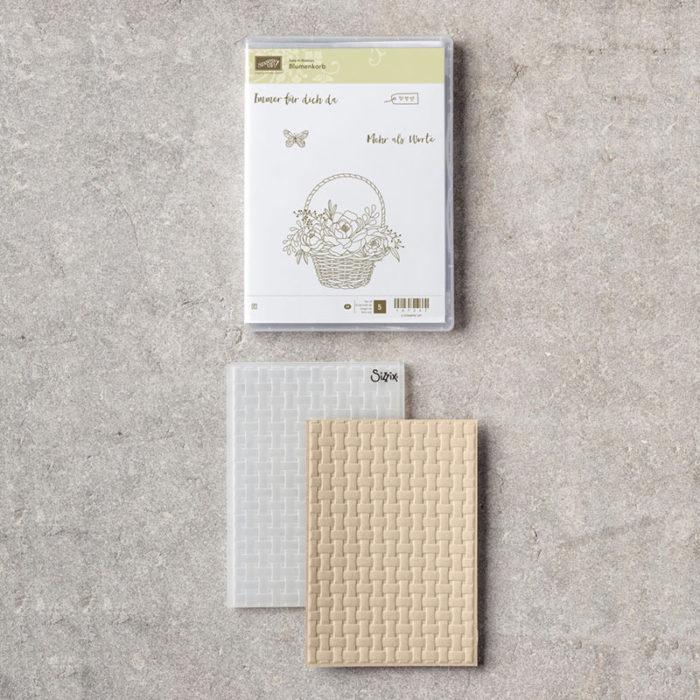 Sale-A-Bration 2018 Produktpaket Blumenkorb www.stempelrausch.de
