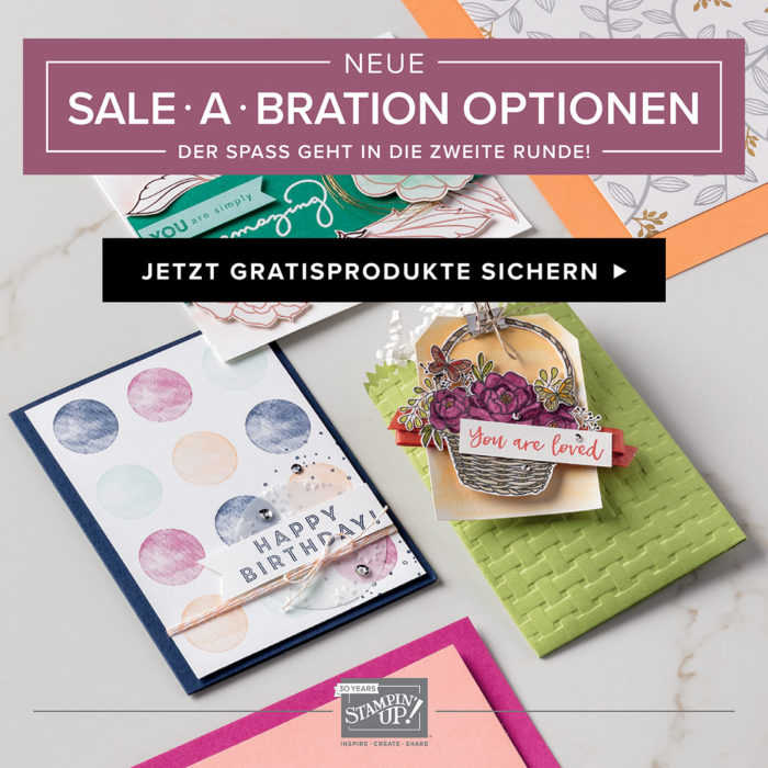 Sale-A-Bration 2018 zweite Runde www.stempelrausch.de