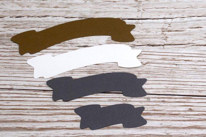 Framelits Banner verlängern oder verkürzen mit den Framelits Formen Schachtel voller Liebe von Stampin' Up! www.stempelrausch.de