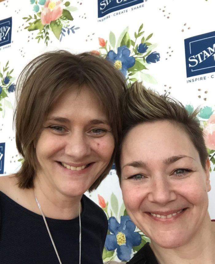 Jeanette Egemann von Stempeline und Michèle Vogel von Stempelrausch