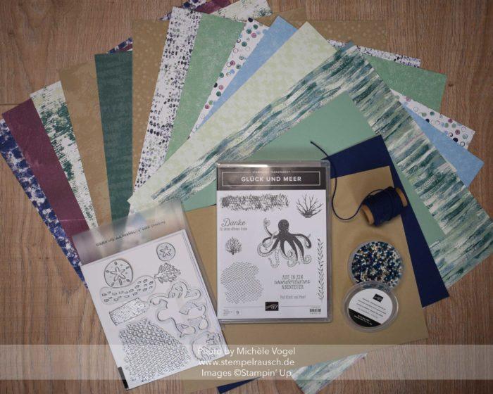 Stampin' Up! Produktreihe Traum vom Meer www.stempelrausch.de