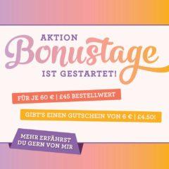 Bonustage von Stampin' Up! www.stempelrausch.de