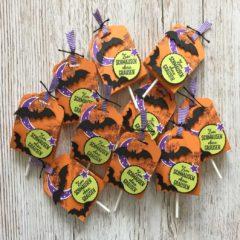 Halloween Lolli Verpackung mit der Stanze Gewellter Anhänger