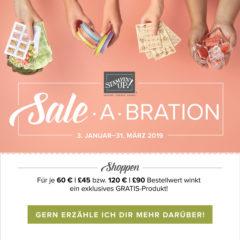 Die Sale-A-Bration 2019 und der Frühjahr-/Sommerkatalog 2019 startet