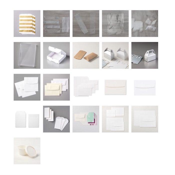 Verpackungs-Share / Verpackungs-Musterpaket mit Stampin' Up! Produkten, wie Geschenktüten, Zellophantüten, Schachteln, Verpackungen, Umschläge und Kärtchen. www.stempelrausch.de