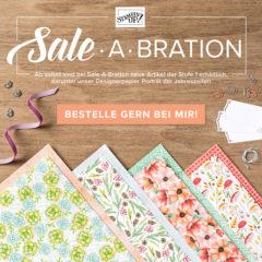 Weitere Gratisprämien und Produkte abgestimmt auf die Sale-A-Bration
