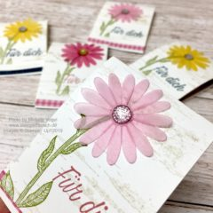 Videoanleitung: Blumen aus Pergament einfärben