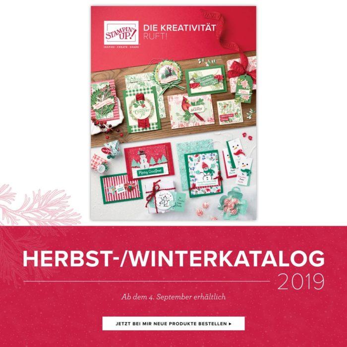 Herbst-Winterkatalog 2019 von Stampin' Up! www.stempelrausch.de