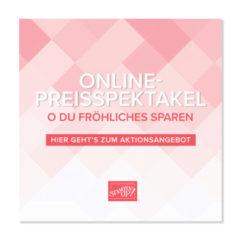 Mit dem Online-Preisspektakel heute 10% sparen!